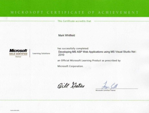 mark whitfield mark_whitfield_developing_ASP_Web_applications