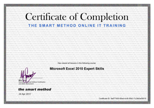 mark_whitfield_microsoft_excel_2010_mike_smart_training