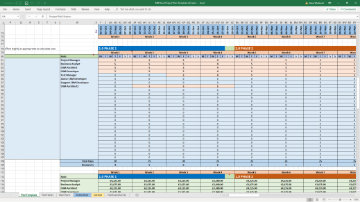 mark whitfield excel project plan template 4