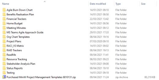 free best project management templates agile prince2 mpp xls excel ppt